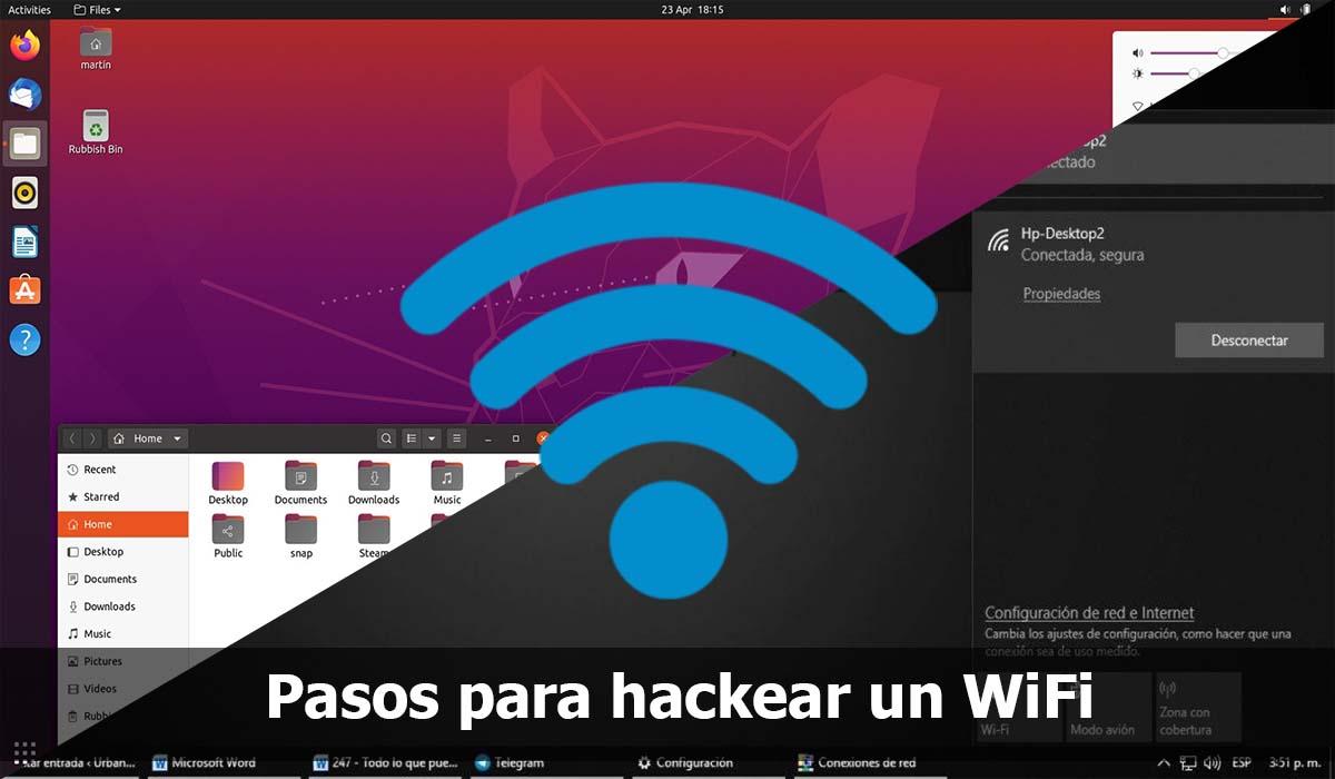 Pasos para hackear un WiFi gratis