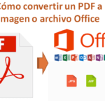 Learn to ⭐ CONVERT your PDF file ✅ to an IMAGE file (JPG OR PNG), or any OFFICE FILE such as Word, Excel, PowerPoint, etc. ⭐