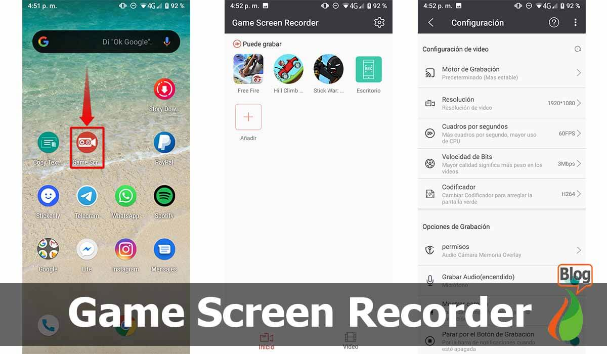 Game Screen Recorder, ideal for gameplay and streaming