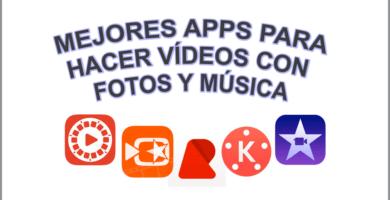 Aprende cómo hacer vídeos con fotos y música GRATIS 🔥 con apps para Android e iOS, paso a paso, fácil y sencillo.