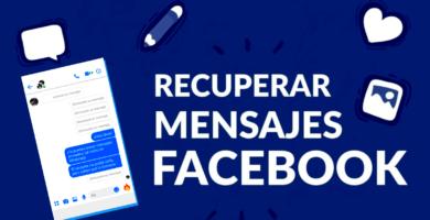 Aprende cómo ⭐ RECUPERAR ⭐ los mensajes / conversaciones Borrados o Eliminados de Facebook Messenger paso a paso y de una forma fácil.
