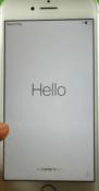 El iPhone 7 se ha restaurado.