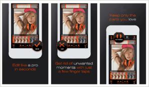 App PerfectVideo, una de las mejores apps para hacer vídeos con fotos y música de fondo.