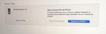 Presiona sobre ese botón para resetear tu iPhone 7.