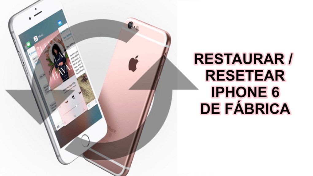 Are you looking to restore or RESET your iPhone 6 or 6s from factory? ⭐ ENTER HERE ⭐ and learn how to reset your iPhone 6 step by step and easy.