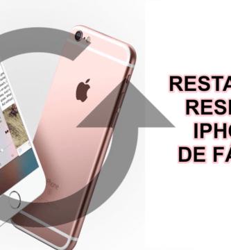 ¿Buscas Restaurar o RESETEAR tu iPhone 6 o 6s de fábrica? ⭐ ENTRA AQUÍ ⭐ y aprende cómo reiniciar tu iPhone 6 paso a paso y fácil.
