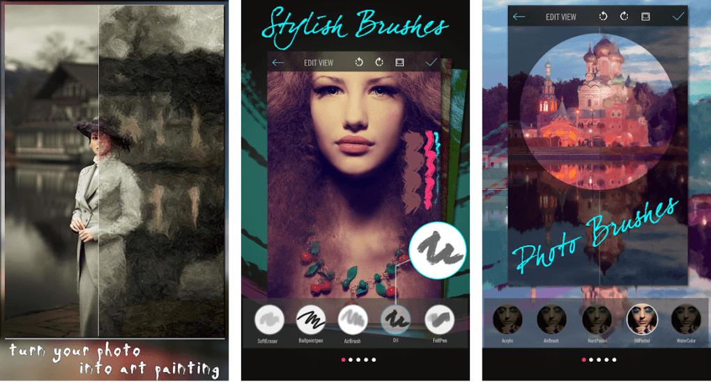 Con Brush Stroke haz que tus fotos luzcan más profesionales.