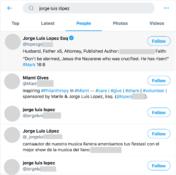 Así es como puedes buscar personas en Twitter.