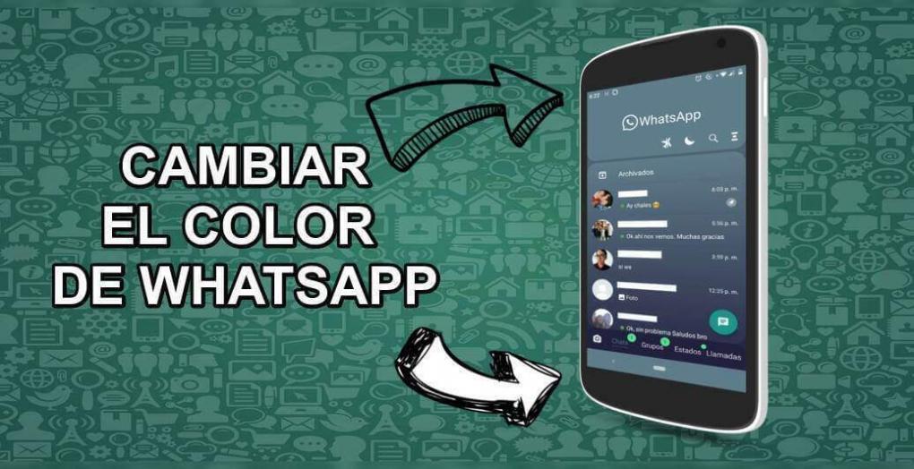 Ve cómo puedes cambiar el ⭐ COLOR DE WHATSAPP ⭐ de forma segura y FÁCIL para Android e iOS.