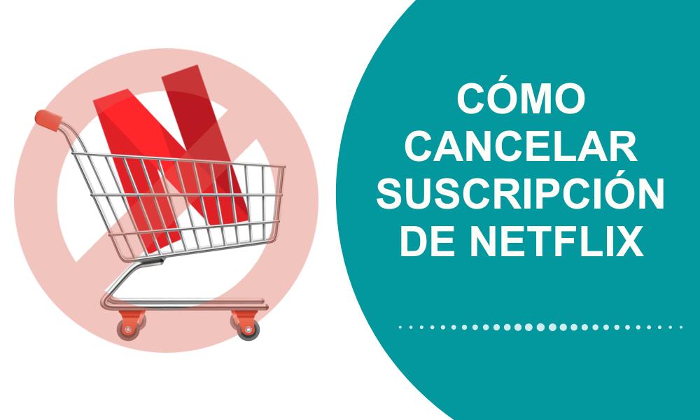 Ve cómo CANCELAR ⛔ o dar de Baja la suscripción de NETFLIX vía PC o teléfono para ya no pagar con tarjeta de crédito o débito.