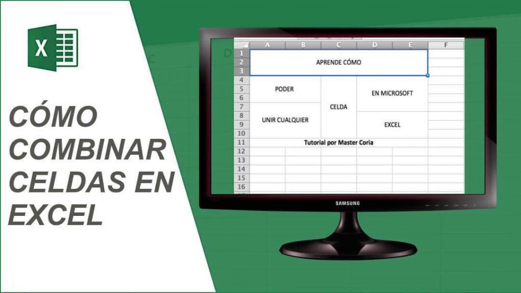 Ve cómo puedes COMBINAR, unir y CENTRAR CELDAS en Microsoft Excel paso a paso y de forma FÁCIL.