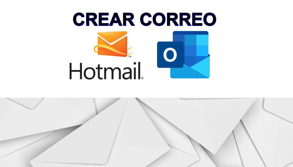 Aprende cómo CREAR una CUENTA de CORREO electrónico de Hotmail o Outlook y registrarse gratis.