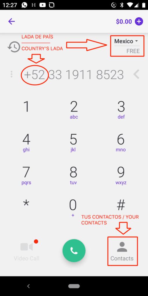 Así es como podrás hacer llamadas gratis online sin saldo.